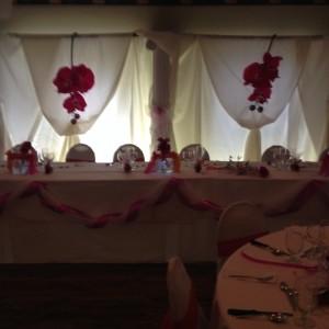 Décoration événementiel - MARIAGE 2013