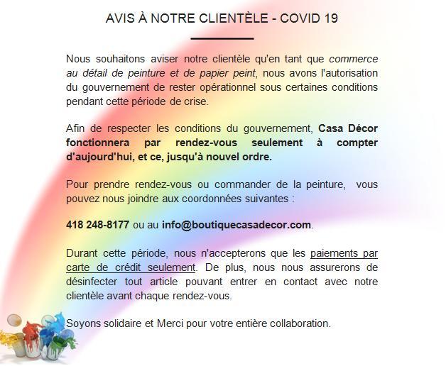Service de décorateur par Sébastien Castillo.